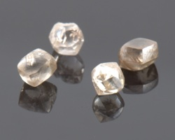 Industrial Diamonds Brown Shapes